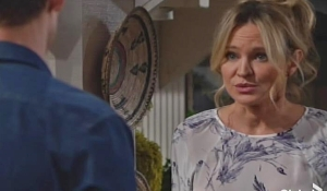 Sharon Adam tackhouse on Young and Restless