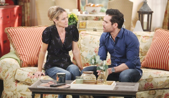 Sharon Rey decision Young and Restless