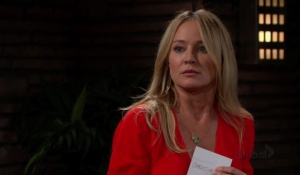 Sharon faces Adam The Young and the Restless