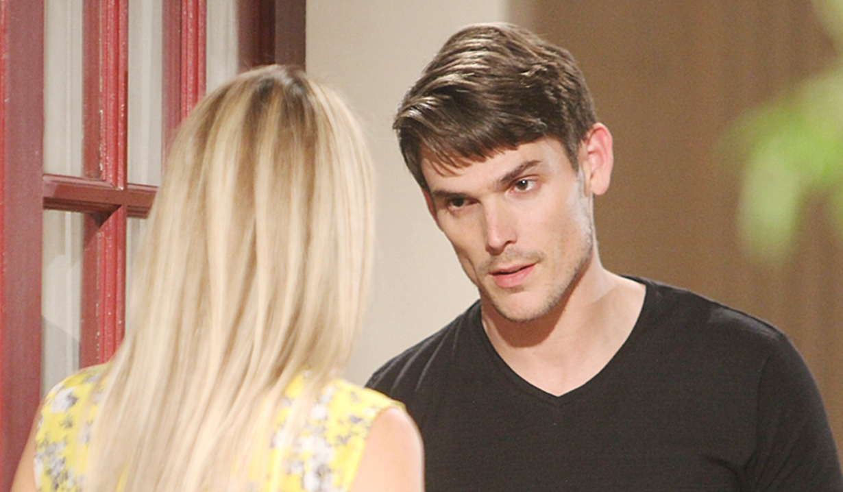 Sharon brings Adam news on Young and Restless