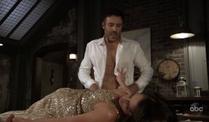 Shiloh about to rape Sam on General Hospital