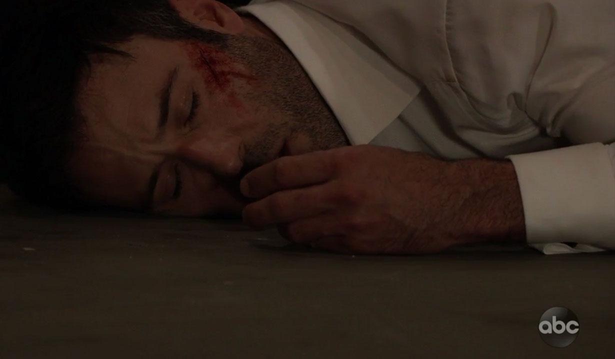 Shiloh is beaten on General Hospital