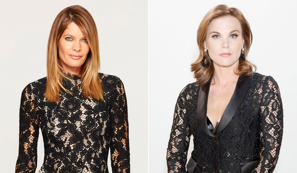 Michelle Stafford and Gina Tognoni of General Hospital and Young and the Restless