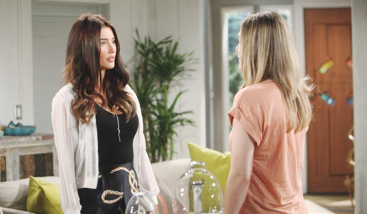 Steffy Hope talk about Phoebe and Douglas Bold and Beautiful