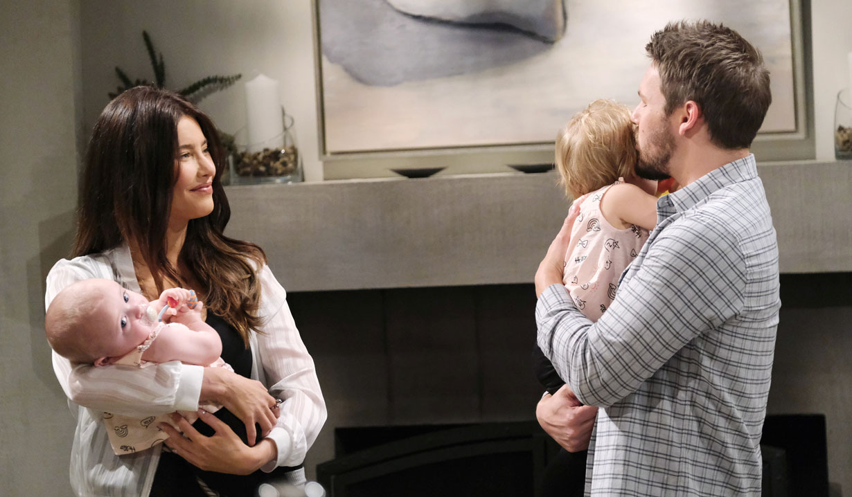 bold and the beautiful recap steffy returns home learns hope wants to end her marriage to. Black Bedroom Furniture Sets. Home Design Ideas