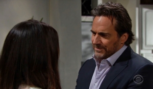 Steffy and Ridge talk on Bold and Beautiful