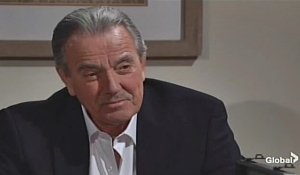 Victor warns the doctor on Young and Restless
