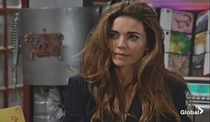 Victoria complicated reply on Young and Restless