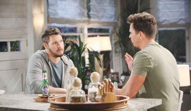Wyatt and Liam vent about Thomas on Bold and the Beautiful