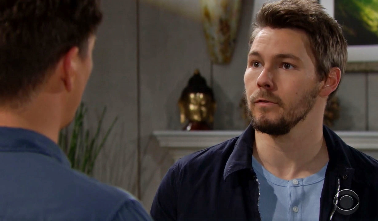 Wyatt updates Liam on Bold and Beautiful