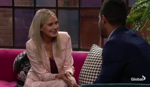Abby flirts with Nate The Young and the Restless