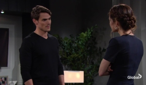 Adam gives Nick and Victoria his demands The Young and the Restless