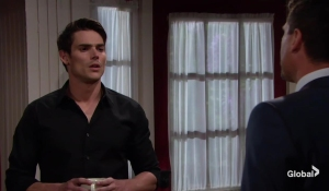 Nick shoots down Adam's request The Young and the Restless