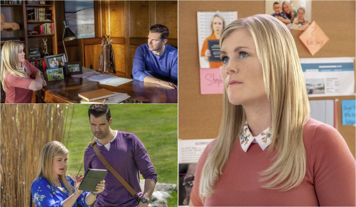 alison sweeney of days of our live in the deep end on hallmark