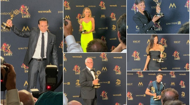 backstage emmy interviews