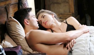 ben and ciara in bed on days of our lives