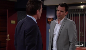 Billy talks to Jack The Young and the Restless