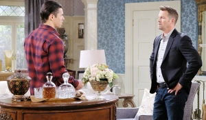 xander and brady talk deals days of our lives