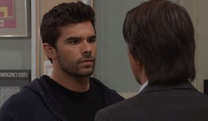 Chase considers a request from Finn on General Hospital