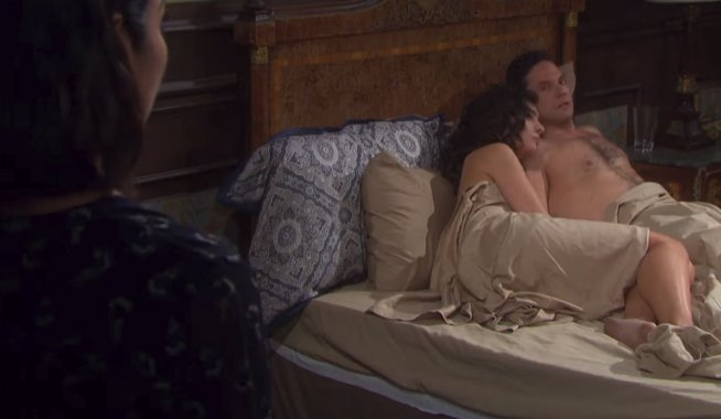 chloe catches gabi and stefan naked on days of our lives