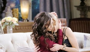 ciara hug claire breakup Days of our Lives