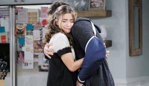 ciara hugs rafe on days of our lives