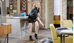 claire thrown lighter fluid on clothes on days of our lives