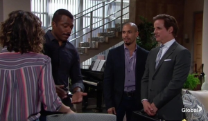 Michael drops in on Devon and Jett The Young and the Restless