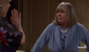 Dina freaks out at Traci The Young and the Restless
