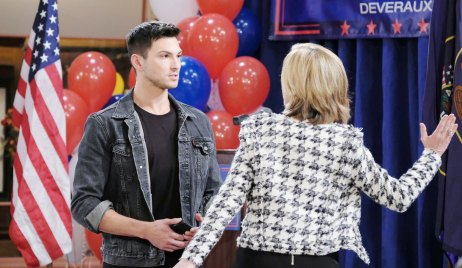 eve goes to slap ben on days of our lives