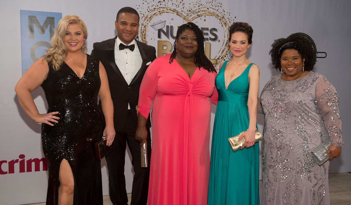 cast 2019 General Hospital Nurses Ball