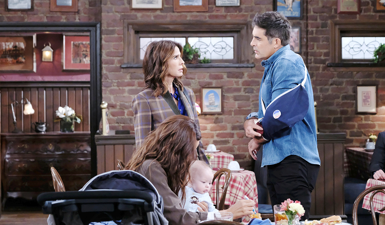 rafe and hope and david and lani pub days of our lives