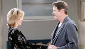 eve and jack talk politics Days of our Lives