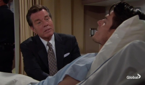 Jack visits Adam The Young and the Restless