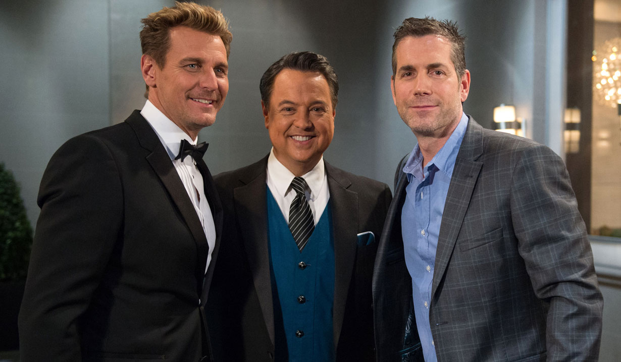 Frank Valentini, Ingo Rademacher 2019 General Hospital Nurses Ball