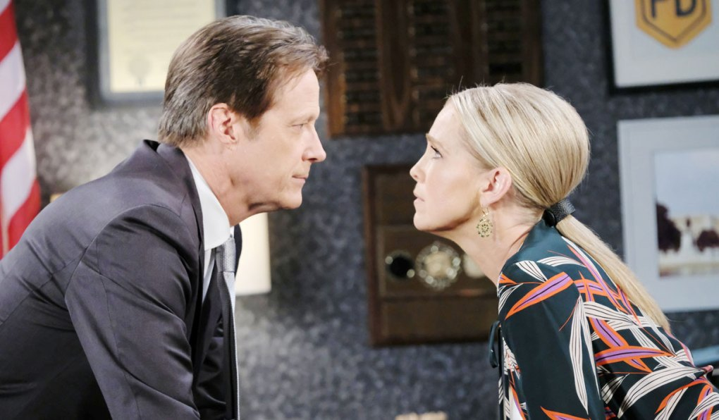 jenn and jack salem pd faceoff on days of our lives