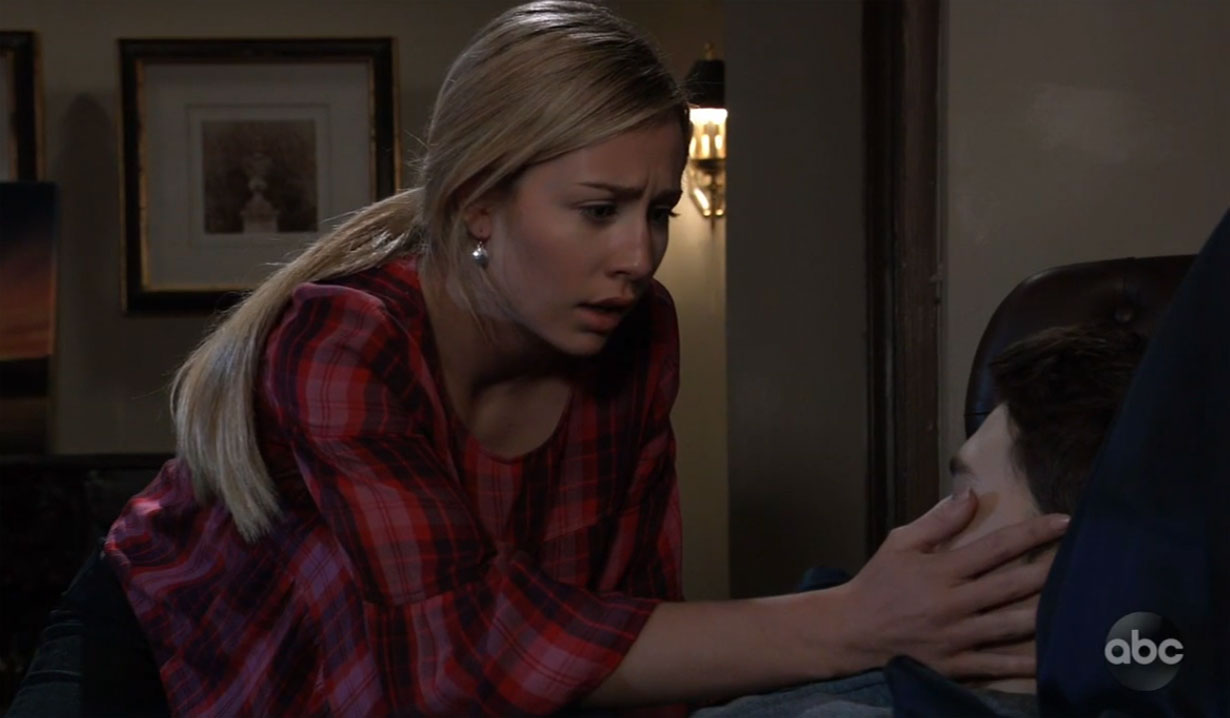 Joss discovers Oscar has died on General Hospital