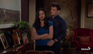 3c19a240c The Young and the Restless recap: Sharon Encourages Adam to Return ...