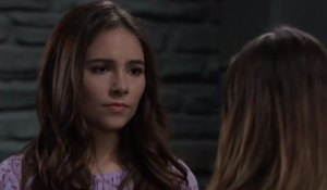 Molly concerned talking to Kristina on General Hospital
