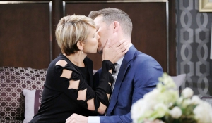 nicole kissing brady days of our lives