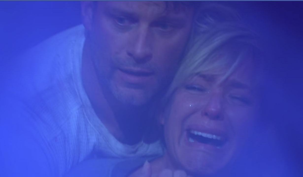 nicole cries when hollie dies on days of our lives