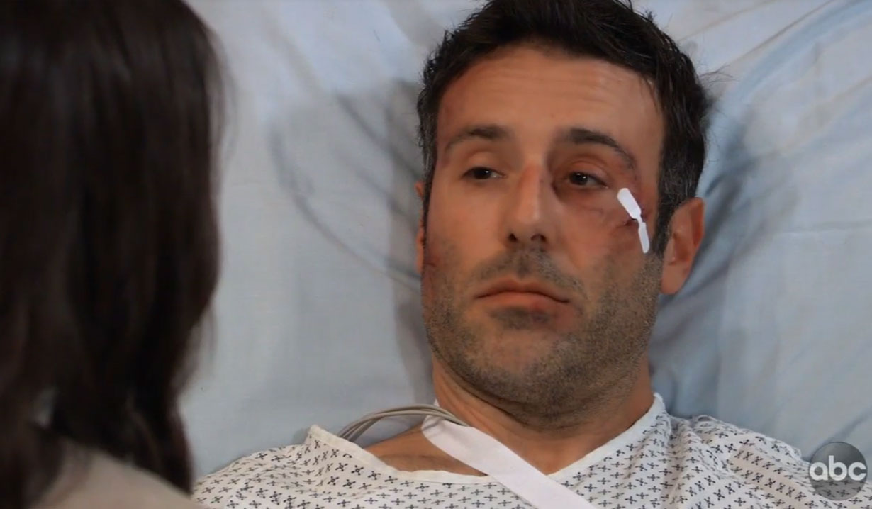 sam confronts shiloh in hospital on general hospital