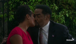 sheila and abe kiss days of our lives