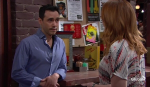 Mariah meets her stalker The Young and the Restless