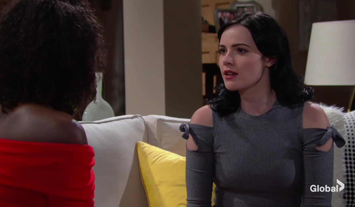 Ana and Tessa talk about her image The Young and the Restless