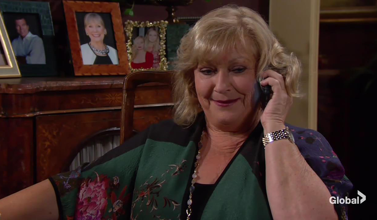 Traci talks to Cane The Young and the Restless