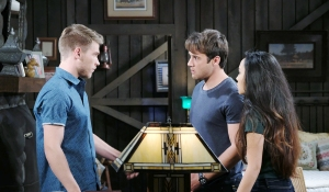 tripp haley and jj horton cabin days of our lives