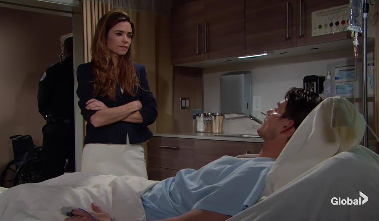 Victor and Adam discuss his agenda The Young and the Restless