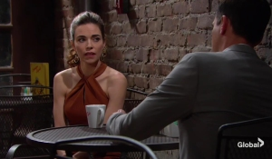 Victoria and Billy talk Adam The Young and the Restless