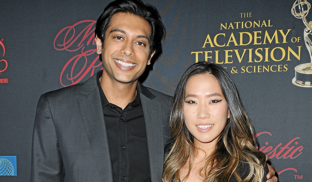 Abhi Sinha Helen Kim engaged Young and Restless